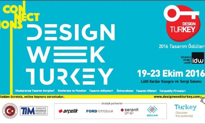 Türkiye Tasarım Haftası 19-23 Ekim