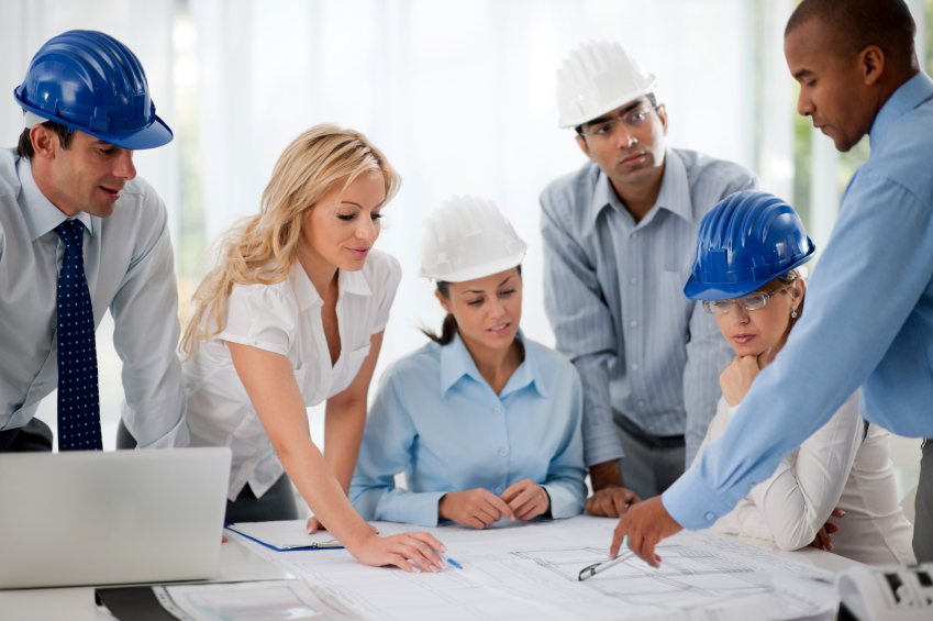 Group of successful architects talking about the project. They are wearing protective helmets. [url=http://www.istockphoto.com/search/lightbox/9786622][img]http://img543.imageshack.us/img543/9562/business.jpg[/img][/url] [url=http://www.istockphoto.com/search/lightbox/9786738][img]http://img830.imageshack.us/img830/1561/groupsk.jpg[/img][/url]