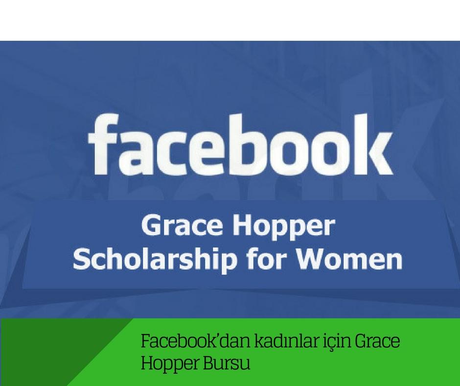Facebook'dan kadınlar için Grace Hopper Bursu