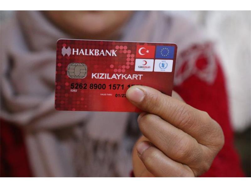 Kızılaykart'tan Yararlanan Sığınmacı Sayısı 500 Bine Ulaştı