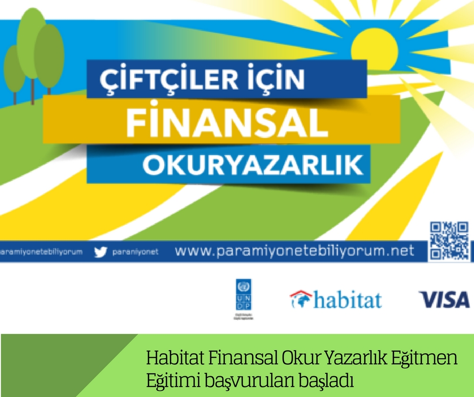 Habitat Finansal Okuryazarlık Eğitmen Eğitimi başvuruları başladı