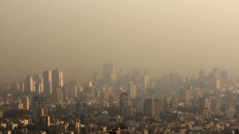 Rooftops shrouded in polluted air in Tehran, Iran, Wednesday, Dec. 1, 2010. Heavy air pollution has forced Iranian authorities to close government offices and declare a two-day public holiday in the capital, Tehran. (AP Photo/Vahid Salemi)