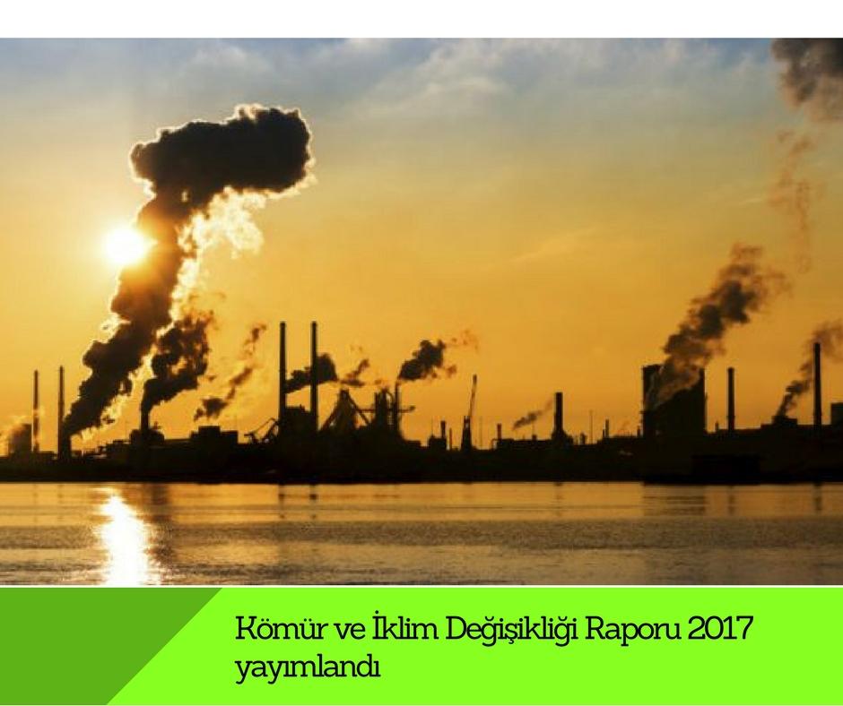 Kömür ve İklim Değişikliği Raporu 2017 yayımlandı