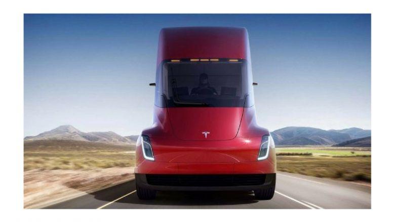 Semi Tesla Haberi