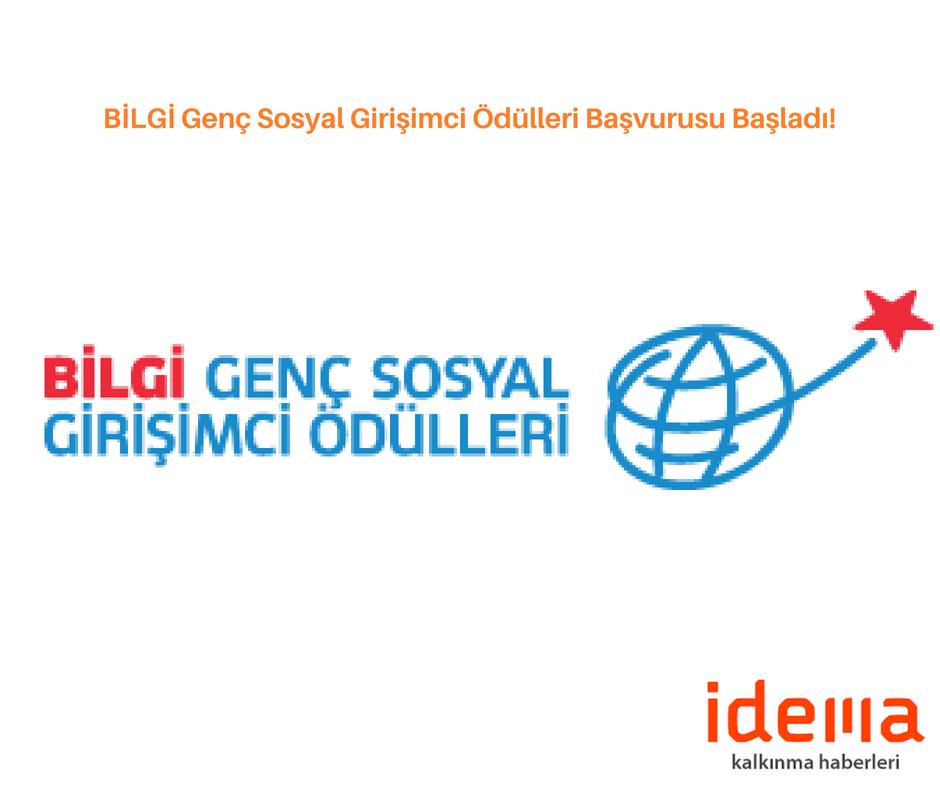 BİLGİ Genç Sosyal Girişimci Ödülleri Başvurusu Başladı!
