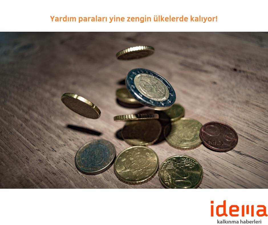 Yardım paraları yine zengin ülkelerde kalıyor!