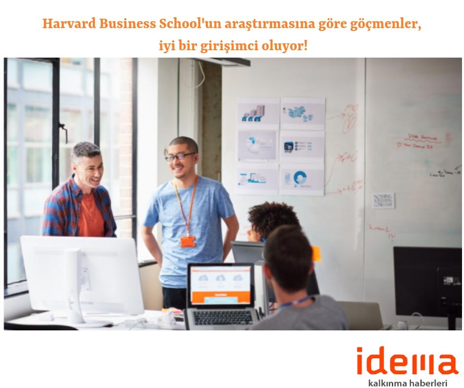 Harvard Business School'un araştırmasına göre göçmenler, iyi bir girişimci oluyor!