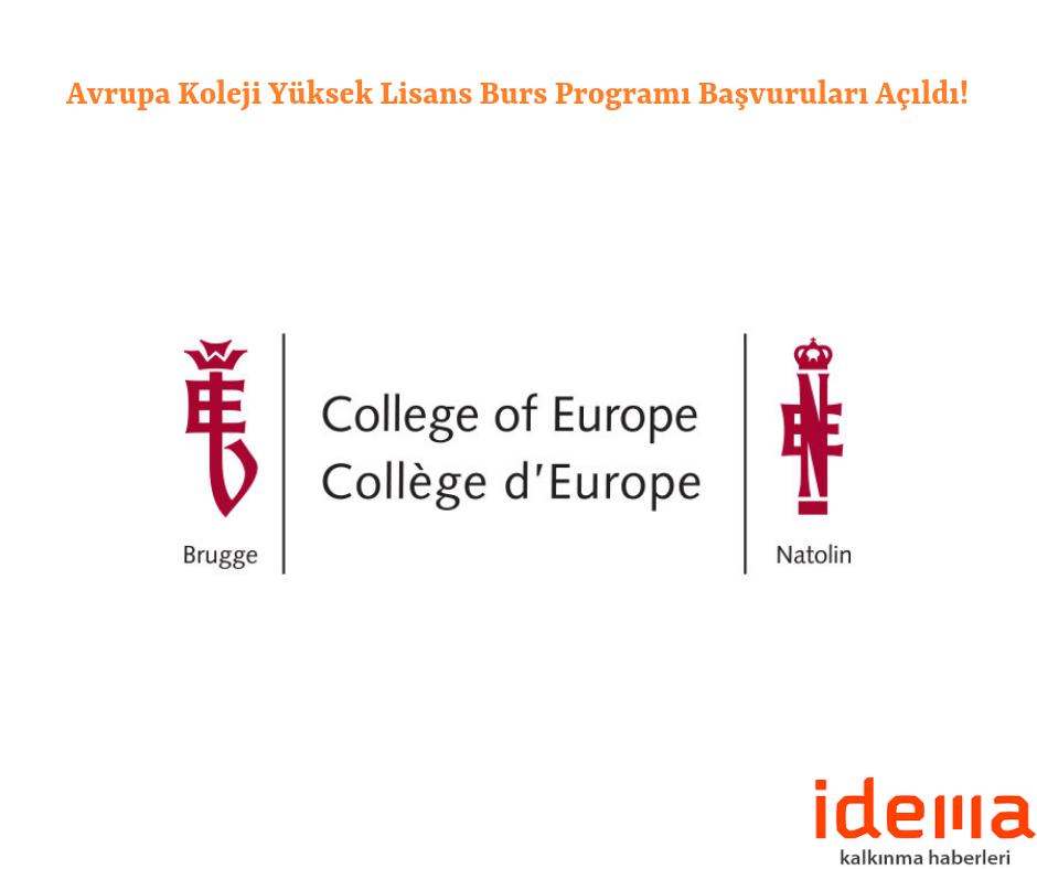 Avrupa Koleji Yüksek Lisans Burs Programı Başvuruları Açıldı!