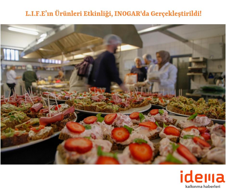 Gıda Girişimcileri, L.I.F.E'ın Ürünleri Etkinliği'ne Katılanları Lezzetli Yemekleriyle Büyüledi!