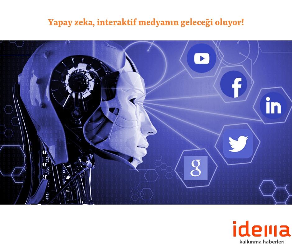 Yapay zeka, interaktif medyanın geleceği oluyor!