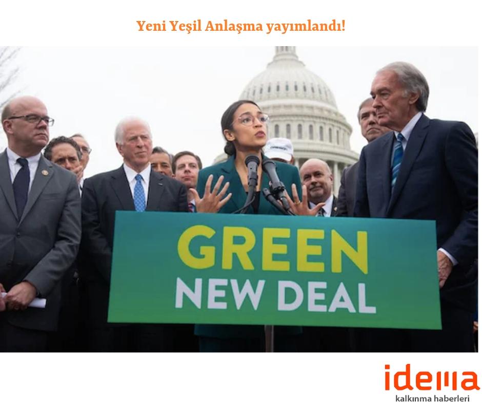 Yeni Yeşil Anlaşma yayımlandı!