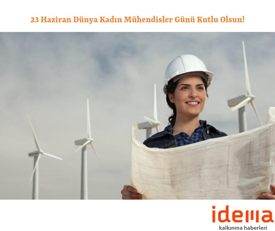 23 Haziran Dünya Kadın Mühendisler Günü Kutlu Olsun!