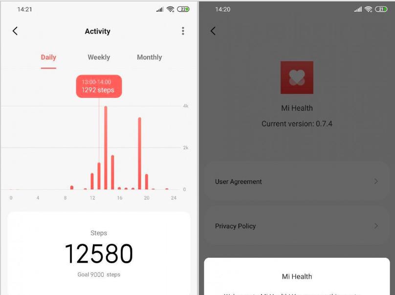Xiaomi, yeni sağlık ve spor uygulamasını tanıttı!
