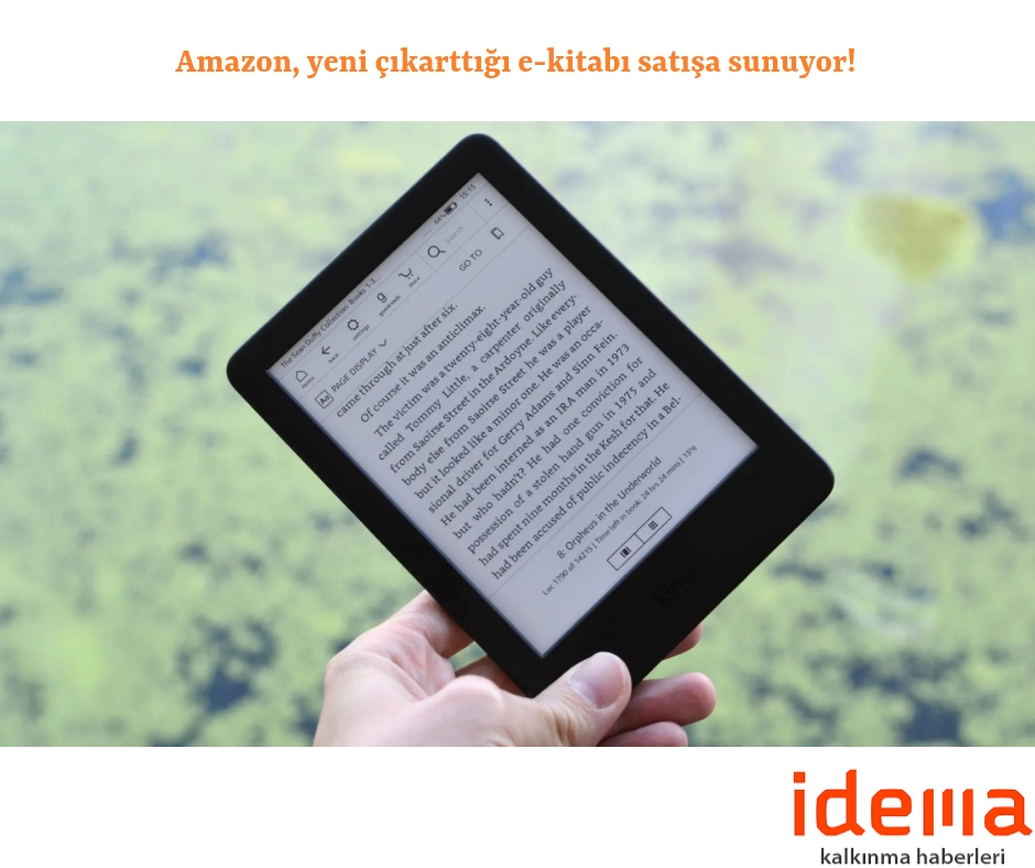 Amazon, yeni çıkarttığı e-kitabı satışa sunuyor!
