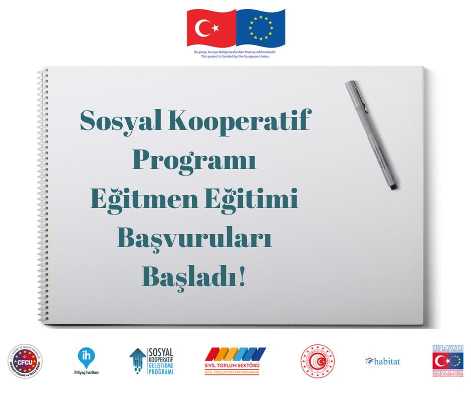 Sosyal Kooperatif Programı Eğitmen Eğitimleri Başladı!
