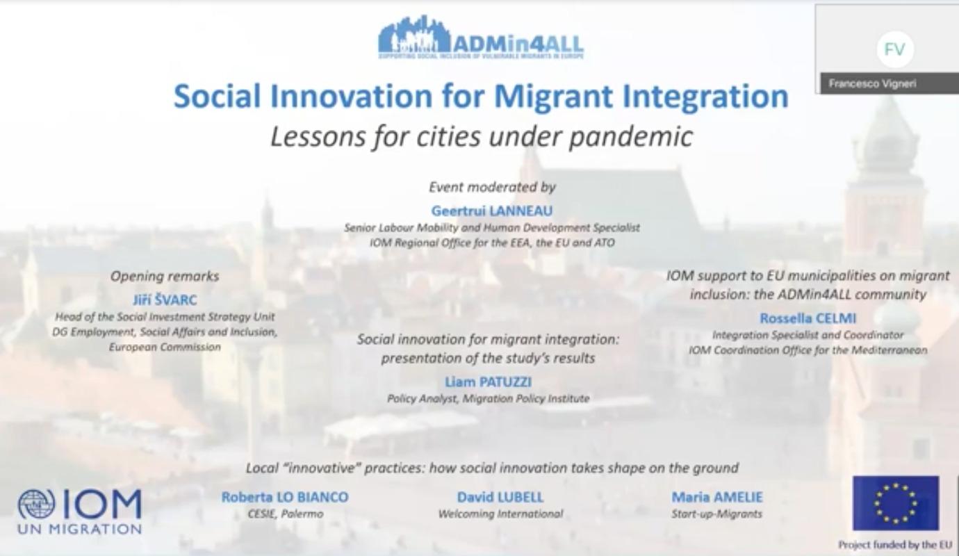 Sosyal İnovasyon Yoluyla Göçmen Katılımını Sağlama Raporu Yayımlandı!