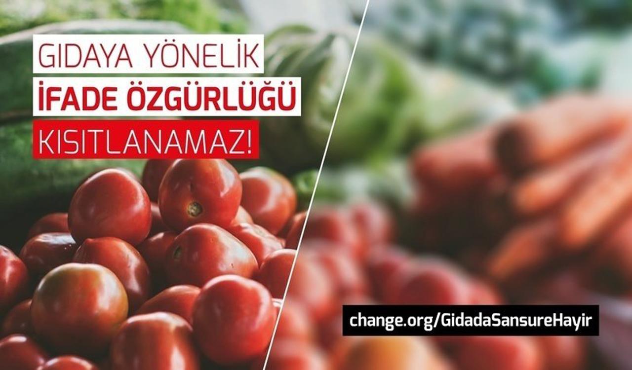 STK'lardan Çağrı: Gıdada Sansüre Hayır!