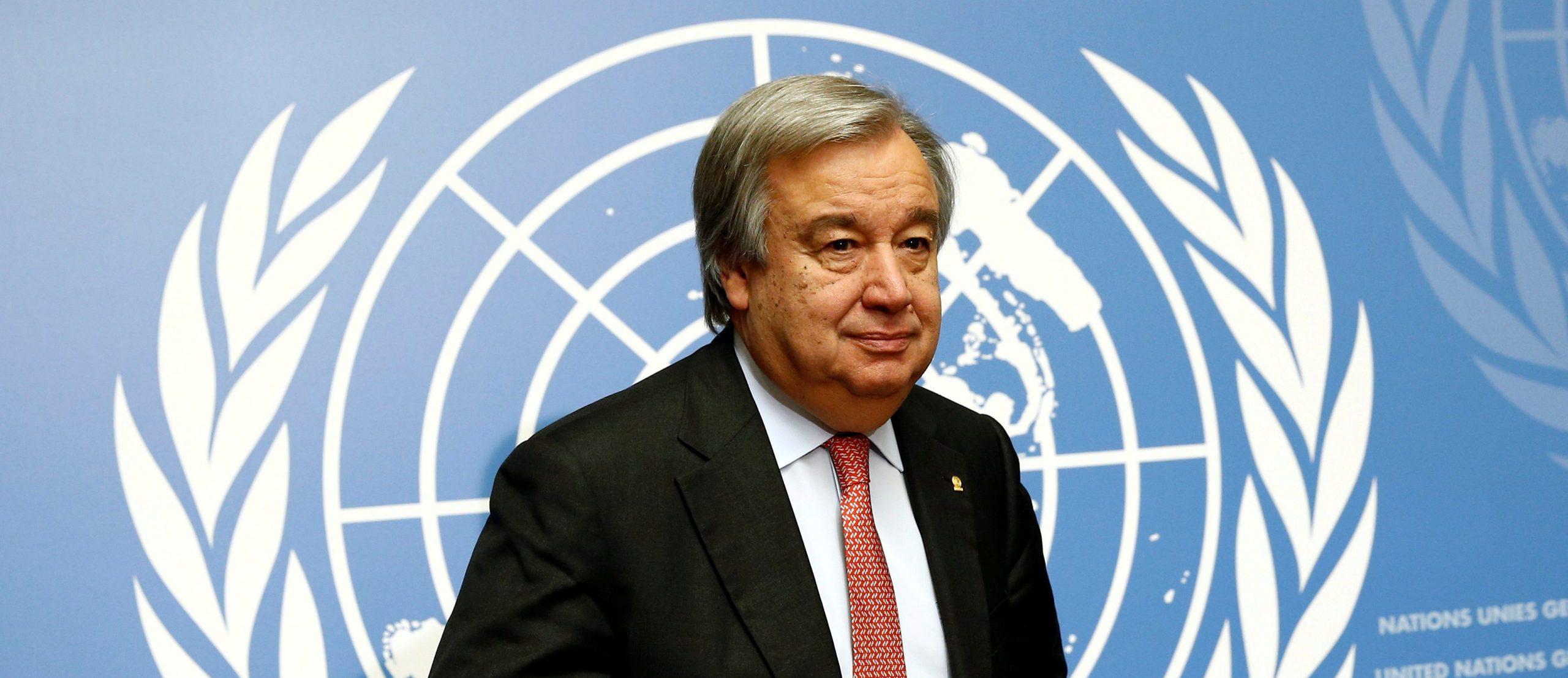 BM Genel Sekreteri António Guterres Cesur Eylem Çağrısında Bulundu!