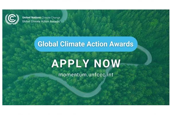 BM Küresel İklim Eylemi Ödülleri 2021 Başvuruları Açıldı!